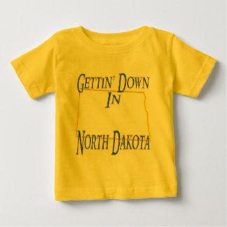 North Dakota - Gettin' Down Baby T-Shirt