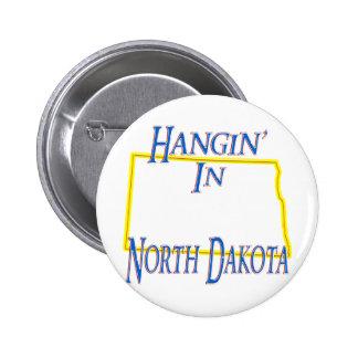 North Dakota - Hangin' Button