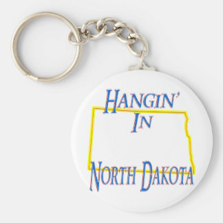North Dakota - Hangin' Key Chains