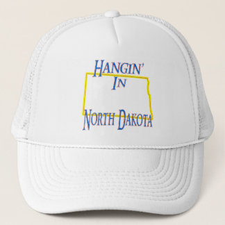 North Dakota - Hangin' Trucker Hat