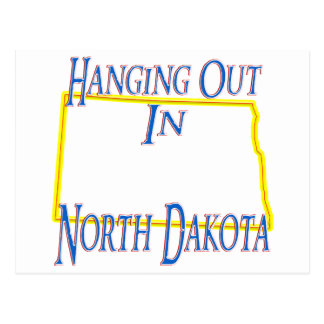 North Dakota - Hanging Out Postcard