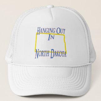 North Dakota - Hanging Out Trucker Hat