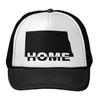 North Dakota Home Away From State Ball Cap Hat