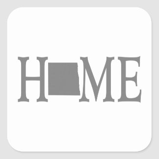 North Dakota Home State Sticker