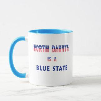 North Dakota is a Blue State Mug