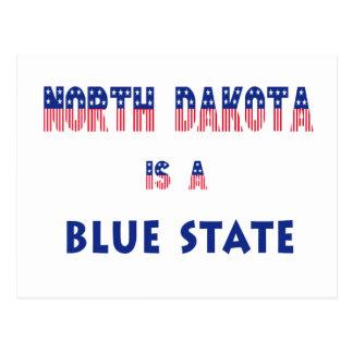North Dakota is a Blue State Postcard