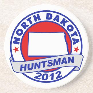 North Dakota Jon Huntsman Drink Coaster