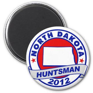 North Dakota Jon Huntsman Refrigerator Magnet