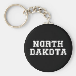 North Dakota Keychain
