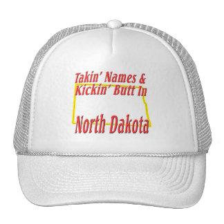 North Dakota - Kickin' Butt Trucker Hat