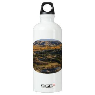 North Dakota Landscape Aluminum Water Bottle