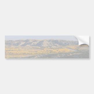 North Dakota Landscape Car Bumper Sticker