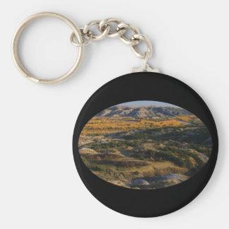 North Dakota Landscape Keychain