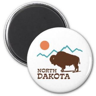North Dakota Refrigerator Magnet