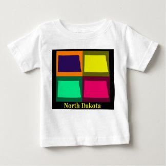 North Dakota Map Baby T-Shirt