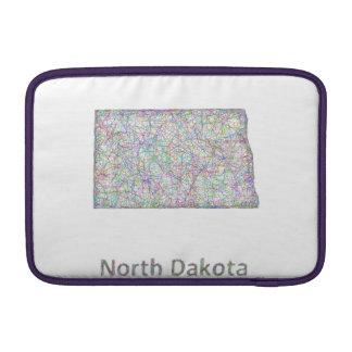 North Dakota map MacBook Air Sleeve