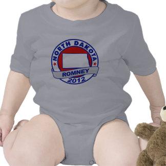 North Dakota Mitt Romney Baby Bodysuits