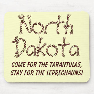 North Dakota Mouse Pads
