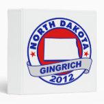 North Dakota Newt Gingrich Binders