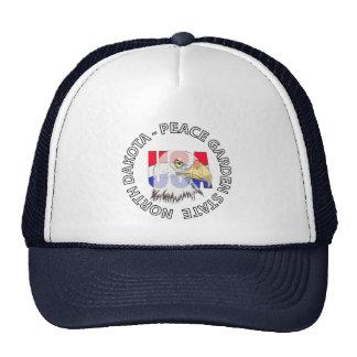 North Dakota Peace Garden State USA Hat