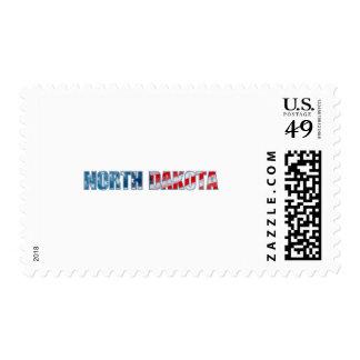 North Dakota Postage Stamp