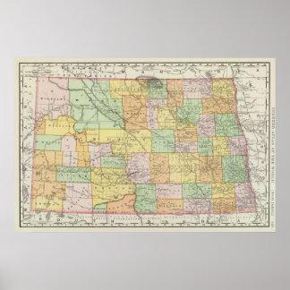 North Dakota Print