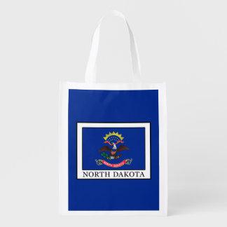 North Dakota Reusable Grocery Bag