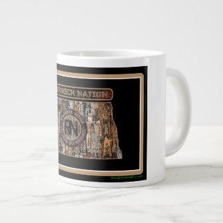North Dakota Rig Up Camo Giant Coffee Mug