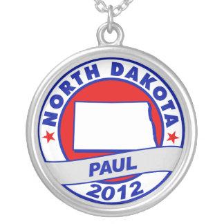 North Dakota Ron Paul Necklace