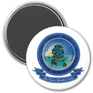 North Dakota Seal Magnet