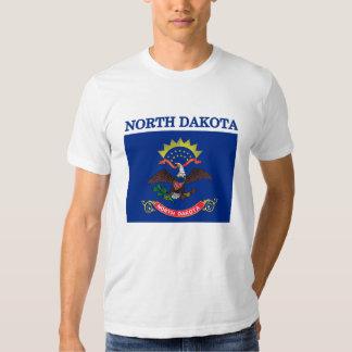 North Dakota State Flag American Apparel T-shirt