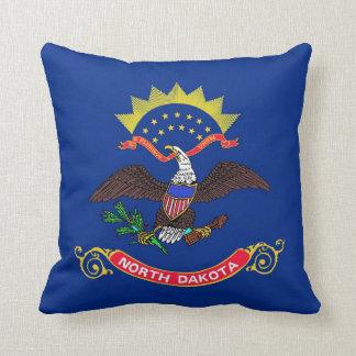 North Dakota State Flag American MoJo Pillow