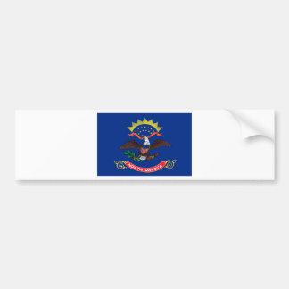 North Dakota State Flag Bumper Sticker