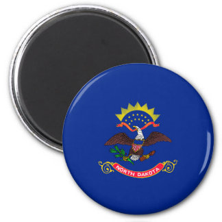 North Dakota State Flag Design Magnet