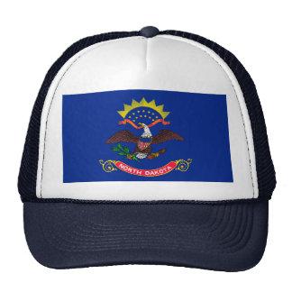 North Dakota State Flag Design Trucker Hat