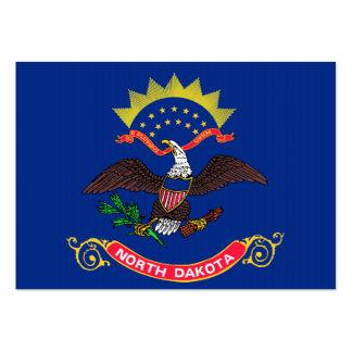 North Dakota State Flag Large Business Card