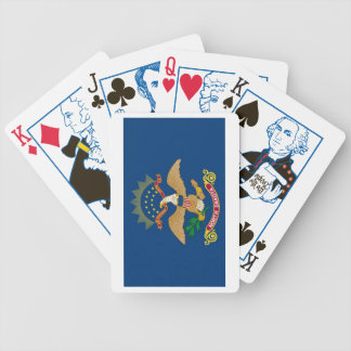 North Dakota State Flag Playing Cards