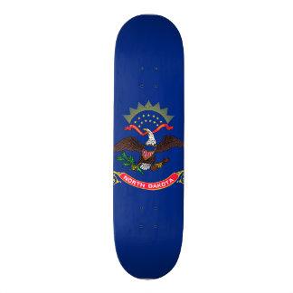North Dakota State Flag Skateboard