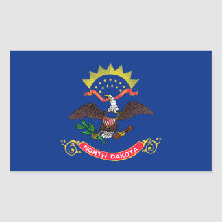 North Dakota State Flag Sticker