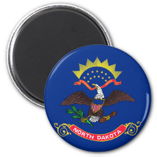 north dakota state flag united america republic sy magnet