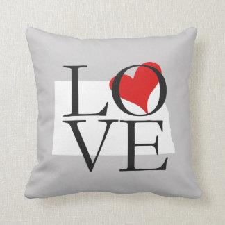 North Dakota State Love Pillow