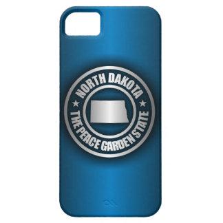 North Dakota Steel (Blue) iPhone 5 Cases