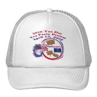 North Dakota Tax Day Tea Party Protest Mesh Hat