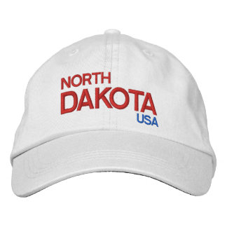 North Dakota* USA Adjustable Hat