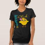 North Dakota USA Chick T-shirts