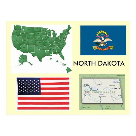 North Dakota, USA Postcard