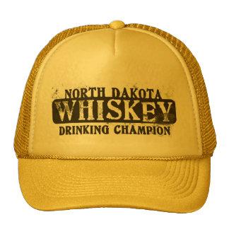North Dakota Whiskey Drinking Champion Trucker Hat