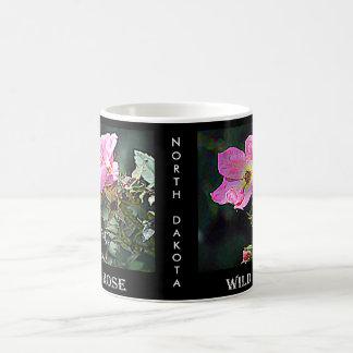 North Dakota Wild Rose Coffee Mug