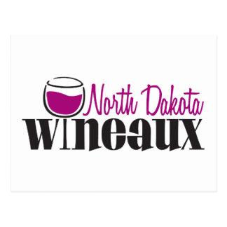 North Dakota Wineaux Post Cards