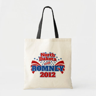 North Dakota with Romney 2012 Tote Bags